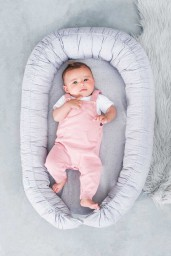 Jollein - babynest Mini dots mist grey