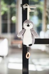 Jollein - muziekhanger Pinguin storm grey