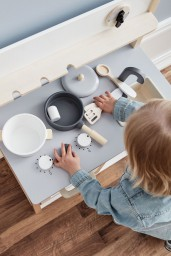 Kid's Concept - keuken natural white
