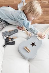 Kid's Concept - gitaar grijs