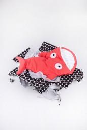Baby Bites - Slaapzak/voetenzak haai Coral