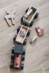 Kid's Concept - speeltrein met diertjes Edvin