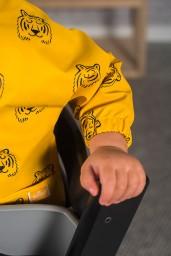 Jollein - slab waterproof met mouw Tiger mustard