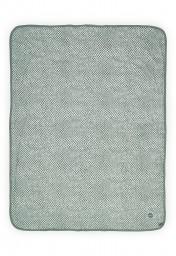 Jollein - deken jersey snake ash green - 75 x 100 cm