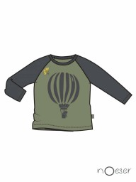 nOeser - Fly away raf raglan airballoon olive