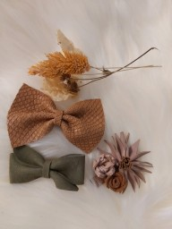 Atelier Ovive - hairpin fee bow - Rusty snake