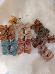 Atelier Ovive - hairpin bow vive - Dusty pink
