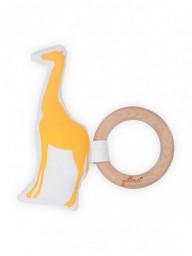 Jollein - bijtring Safari oker