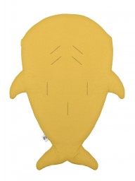Baby Bites - Slaapzak/voetenzak haai mustard