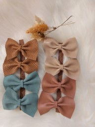 Atelier Ovive - hairpin fee bow - Blush