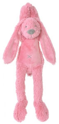 Happy Horse - deep pink rabbit richie musical - 34 cm