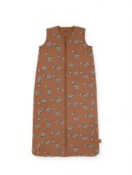 Jollein - Slaapzak zomer 70cm Giraffe caramel