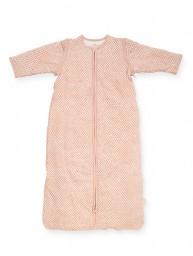 Jollein - slaapzak met afritsbare mouw - snake pale pink - 70 cm