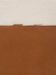 Jollein - voetenzak bliss knit caramel