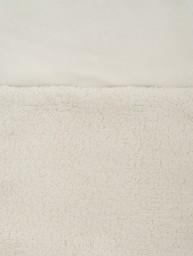 Jollein - voetenzak teddy cream white