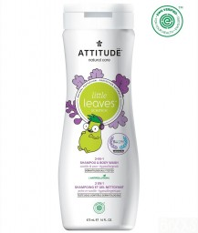 Attitude - Little Leaves 2in1 shampoo & body wash Vanille peer
