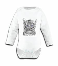 Miss princess and little frog - Body longsleeve tencel tijger