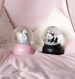 A little lovely company - Snowglobe Panda