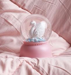 A little lovely company - Snowglobe zwaan
