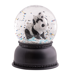 A little lovely company - Snowglobe Panda
