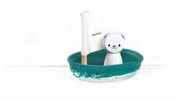 PlanToys - Zeilboot ijsbeer