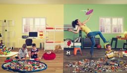 Play&Go - Opbergzak/speelmat Ankers