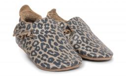 Bobux - Soft soles Gold leopard print