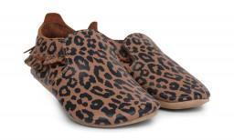 Bobux - Soft soles Caramel Leopard print