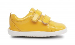 Bobux - Step up grass court yellow - waterproof