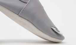Bobux - Soft soles Gull grey woof