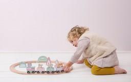 Little Dutch - Treinbaan - adventure pink