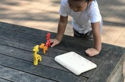 PlanToys - Giraf puzzel