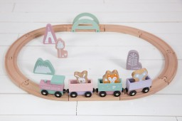 Little Dutch - Treinbaan - adventure pink