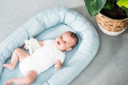 Jollein - babynest Mini dots stone green