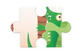 Scratch - contour puzzel krokodil- 36 pcs