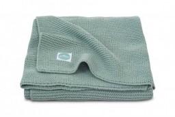 Jollein - deken basic knit forest green 100x150cm
