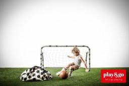 Play&Go - Opbergzak/speelmat voetbal