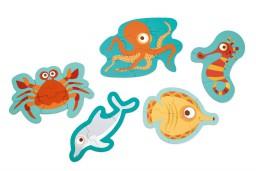 Scratch - beginnerspuzzel oceaan
