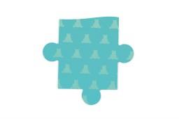 Scratch - contour puzzel ooievaar- 24 pcs