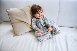 Jollein - slaapzak met afritsbare mouw - bloom - 90cm