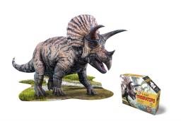 Madd Capp - puzzel - Triceratops - 100 pcs