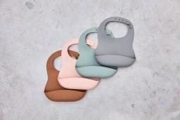 Jollein - Baby slab siliconen Storm grey