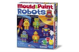4M - Crea Gips gieten en verven: Robots