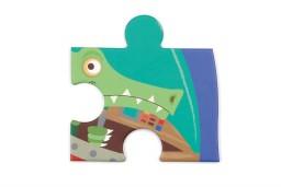 Scratch - contour puzzel ruimte - 36 pcs