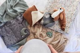 Jollein - deken teddy bliss knit caramel - 100x150 cm