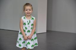 Zezuzulla - Si Dress Green Hedgehog - laatste stuk - maat 92