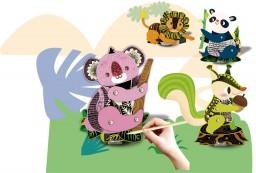 Avenir - Knutselset - Marionet - Wilde dieren
