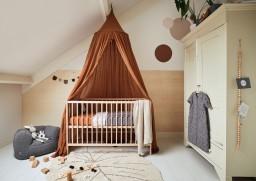 Jollein - Baby slaapzak 70cm Storm grey met afritsbare mouw