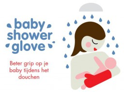 Baby shower glove - bever