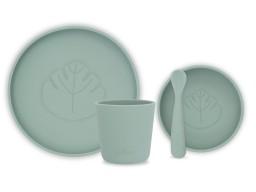 Jollein - Dinerset Siliconen Ash green